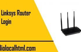 Linksys-router-login