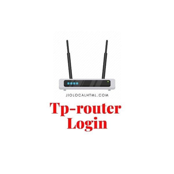 Tp router Login