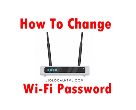 How-change-wifi-password?